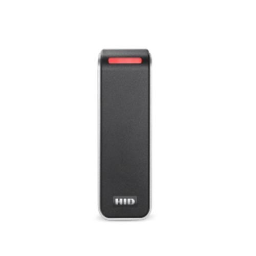 HID Signo 20 Card Reader Access Device - Black, Silver - Door - Proximity - 100 mm Operating Range - Bluetooth - Serial - Wiegand - 12 V DC - Mullion Mount, Surface Mount