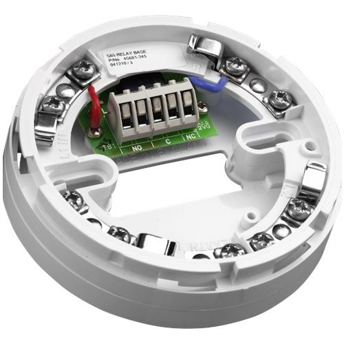 Apollo Smoke Detector Base - For Smoke Detector - Polycarbonate, Nickel Plated Stainless Steel