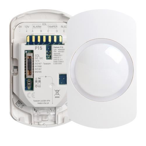 Texecom Capture Wired Wall Mount 15M PIR Sensor