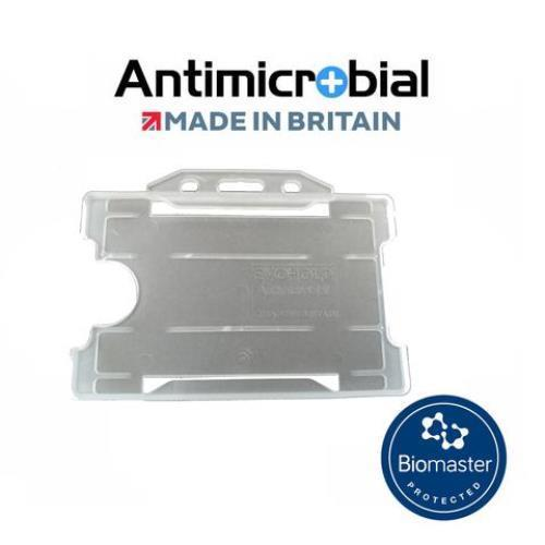 Card Holder L/Scape 100 Clear Antimicrob