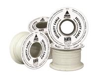 CQR Control Cable for Alarm - 100 m - Bare Wire - Bare Wire - White