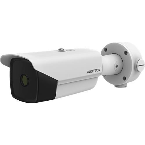 Hikvision DS-2TD2137-7/P Network Camera - Bullet - H.265, H.264, MJPEG - 384 x 288 - Uncooled VOx