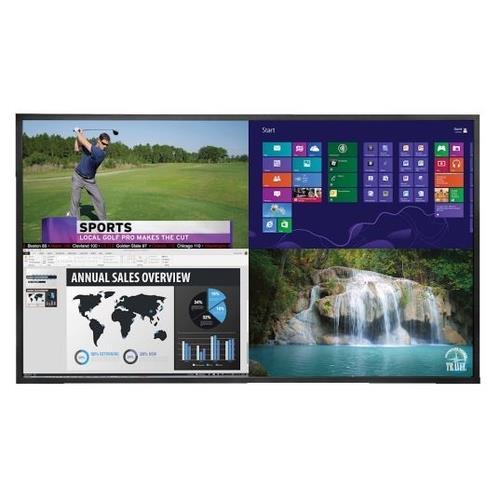 "Planar Ep 58"" LCD Ultra HD 24/7 Landscape/Portrait Wall Mount Digital Display"