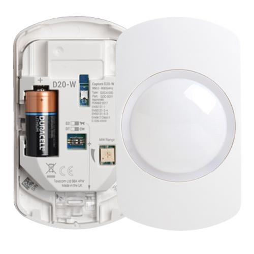 Texecom Capture Wireless Wall Mount 20M Dual Tech Sensor Ricochet Technology