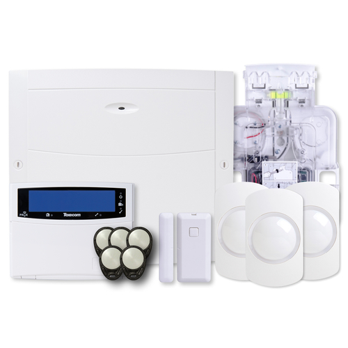 Texecom Premier Elite 64 Zone Wireless Alarm Kit With Sounder