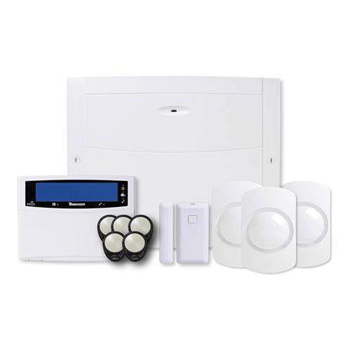 Texecom Premier Elite 64 Zone Wireless Alarm Kit With Wired Keypad