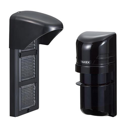 Takex PR-11B Photoelectric Beam Detector - Cable - Dual Beam - 10.97 m Outdoor Range - 14.94 m Indoor Range - Pole-mountable
