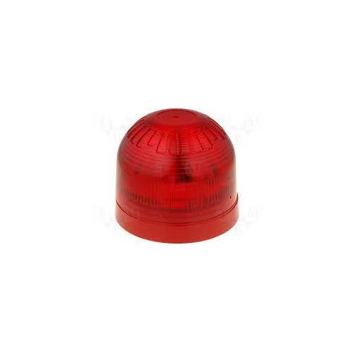 Klaxon Sonos Siren/Strobe - 60 V DC - 100 dB - Audible, Visual - Red