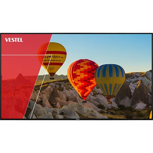 "Vestel 65"" Eled UHD 24/7 500nit Android Landscape/Portrait Wall Digital Display"