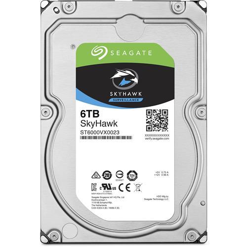 """Seagate SkyHawk ST6000VXA023 6 TB Hard Drive - 3.5"""" Drive"""
