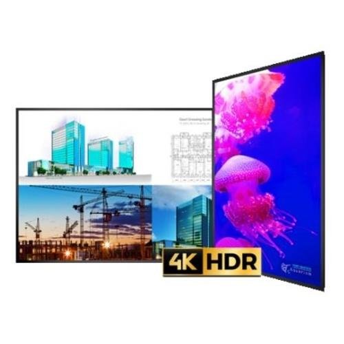 "Planar Ultrares 100"" LCD Ultra HD 24/7 Landscape/Portrait Wall Digital Display"