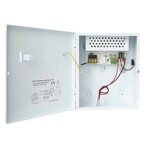 Intruder Psu 2a 12v Output 13.8v Battery