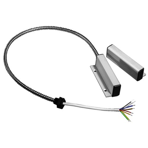 Knight Fire & Security YH10A Cable Magnetic Contact - 30 mm Gap - For Double Door - Silver