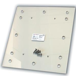 The Fire Beam Co ADAPTERDETECTOR ACCY Unistrut Adaptor Plate