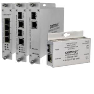 MEDIA CONVERT 100Mbps/1Gbps 1x SFP port