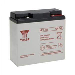 Yuasa NP17-12 Multipurpose Battery - 17000 mAh - Lead Acid - 12 V DC - Battery Rechargeable