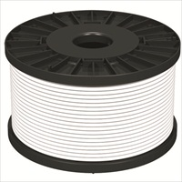 NoBurn FireWire Control Cable for Fire Alarm - 100 m - 1 Pack - White