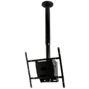 """B-Tech Mountlogic BT8426 Ceiling Mount for Flat Panel Display - 38.1 cm (15"""") to 127 cm (50"""") Screen Support - 40 kg Load Capacity - Black"""