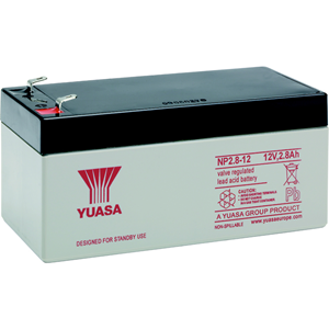 Yuasa NP2.8-12 Multipurpose Battery - 12000 mAh - Sealed Lead Acid (SLA) - 12 V DC - Battery Rechargeable
