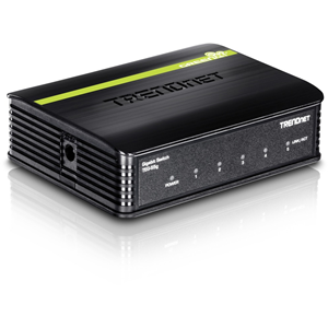 TRENDnet TEG-S5G 5 Ports Ethernet Switch - 5 x Gigabit Ethernet Network - 2 Layer Supported - 5 Year Limited Warranty