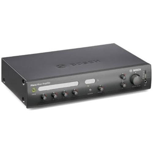 Bosch Plena PLE1MA060-EU Amplifier - 60 W RMS - Charcoal - 50 Hz to 20 kHz - 200 W - Ethernet