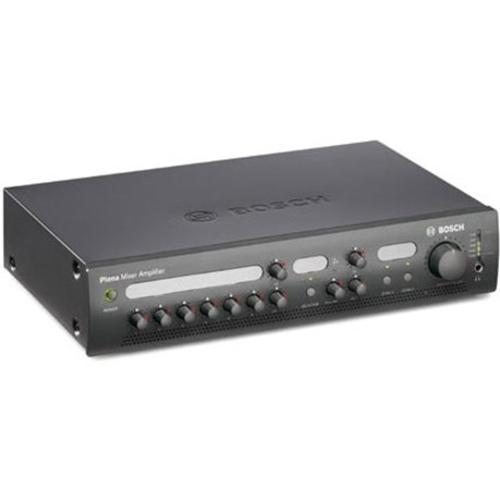 Bosch Plena PLE-2MA120-EU Amplifier - 120 W RMS - Charcoal - 50 Hz to 20 kHz - 400 W - Ethernet