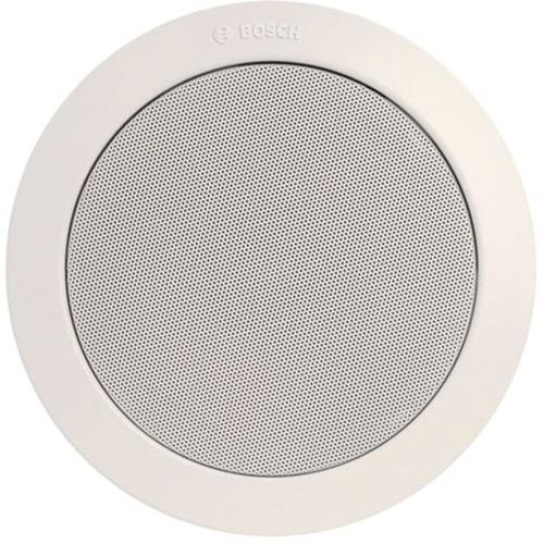 Bosch LBC 3086/41 6 W RMS - 9 W PMPO Speaker - 1 Pack - White - 90 Hz to 20 kHz - 1.7 Kilo Ohm - Flush Mount, In-ceiling