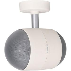 Bosch 10 W RMS - 15 W PMPO Speaker - White - 75 Hz to 20 kHz - 1 Kilo Ohm - Wall Mountable, Ceiling Mountable