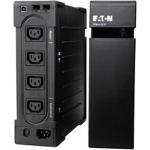 Eaton Ellipse EL650USBIEC Standby UPS - 650 VA/400 W - 2U Tower/Rack Mountable - Lead Acid - 220 V AC Input - 240 V AC, 240 V AC Output - 3 x IEC 60320 C13, 1 x IEC 60320 C13
