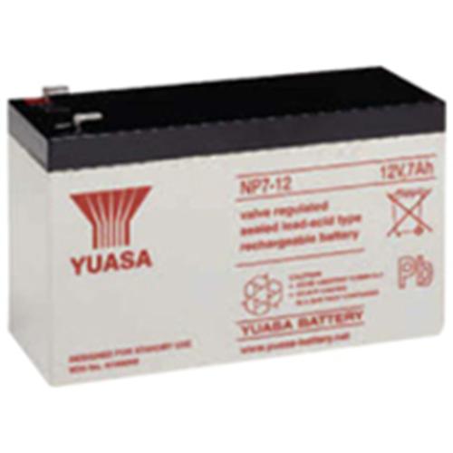 Yuasa NP7-12LFR Battery - Sealed Lead Acid (SLA) - For Multipurpose - Battery Rechargeable - 12 V DC - 7000 mAh