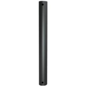 B-Tech System 2 BT7850-150 Mounting Pole - 140 kg Load Capacity - Black