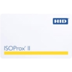HID 1386 Smart Card - 53.98 mm Width x 85.60 mm Length - 100 - White