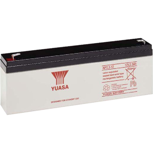 Yuasa Battery - Lead Acid - For Multipurpose - Battery Rechargeable - 12 V DC - 2300 mAh - 76 Wh