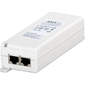 AXIS T8120 PoE Injector - 110 V AC, 220 V AC Input - 48 V DC Output - 1 10/100/1000Base-T Output Port(s) - 15 W