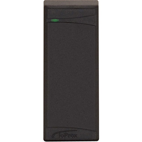 Kantech ioProx P225XSF Card Reader Access Device - Black - Door - Proximity - 165.10 mm Operating Range - Wiegand - 14 V DC - Mullion Mount