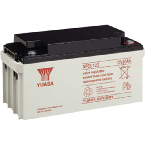 Yuasa NP 65-12I Multipurpose Battery - 65000 mAh - Sealed Lead Acid (SLA) - 12 V DC - Battery Rechargeable