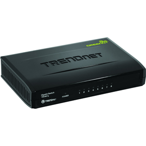 TRENDnet TEG-S81G 8 Ports Ethernet Switch - 2 Layer Supported - Desktop - 3 Year Limited Warranty