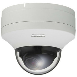 Sony SNC-ZM550 Network Camera - Colour - 1280 x 1024 - 2.9x Optical - Exmor CMOS - Cable - Fast Ethernet - Mini Dome