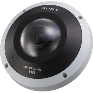 Sony Mini Dome SNCHM662 5 Megapixel Network Camera - Colour - Fixed Mount - 2560 x 1920 - 1.1x Optical - CMOS - Cable - Fast Ethernet - Dome