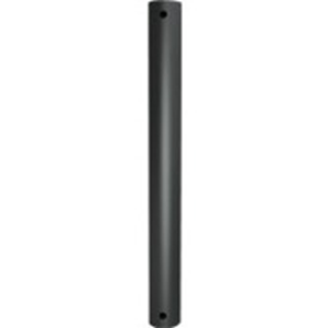 B-Tech System 2 Mounting Pole - 140 kg Load Capacity - Black