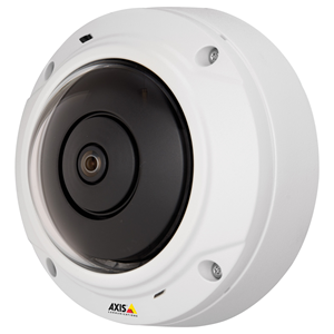 AXIS M3027-Pve 5 Megapixel Network Camera - Colour - M12-mount - 2592 x 1944 - RGB CMOS - Cable - Fast Ethernet - Dome