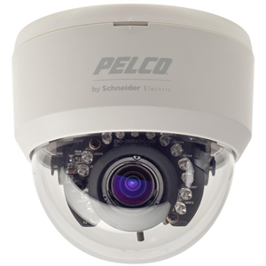 Pelco FD5-IRV10-6X Surveillance Camera - Colour - 2.80 mm - 10.50 mm - 3.8x Optical - Exview HAD CCD II - Cable - Dome - Wall Mount, Pendant Mount