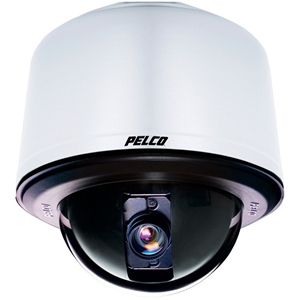 Pelco Spectra IV SD423-PG-E1-X Surveillance Camera - Colour - 3.60 mm - 82.80 mm - 23x Optical - CCD - Cable - Dome - Pendant Mount