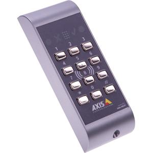 AXIS A4011-E Door Access Control Panel - Door - Mechanical Key, Proximity - 12 V DC - Door-mountable