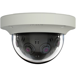 Pelco Optera 12 Megapixel Network Camera - Motion JPEG, H.264 - 2048 x 1536 - CMOS - Pendant Mount