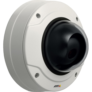 AXIS Q3505-V MK II Network Camera - Colour - Motion JPEG, H.264 - 1920 x 1080 - 3 mm - 9 mm - 3x Optical - Cable - Dome - Wall Mount, Ceiling Mount, Bracket Mount