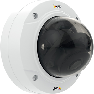 AXIS P3224-LV Network Camera - Monochrome, Colour - Motion JPEG, H.264, MPEG-4 - 1280 x 960 - 3 mm - 10.50 mm - 3.5x Optical - RGB CMOS - Cable - Dome