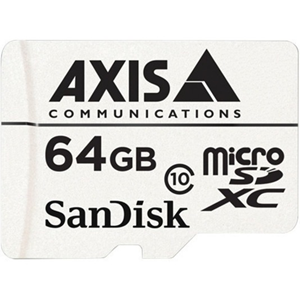 AXIS 64 GB Class 10 microSDXC - 20 MB/s Read - 20 MB/s Write