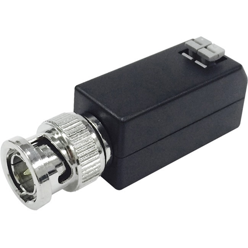 Hikvision DS-1H18 Video Balun - ABS Plastic - 0 Hz to 60 MHz - 200 m Maximum Operating Distance - Network (RJ-45)