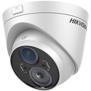 Hikvision DS-2CE56D5T-VFIT3 2 Megapixel Surveillance Camera - Colour - 50 m Night Vision - 1920 x 1080 - 2.80 mm - 12 mm - 4.3x Optical - CMOS - Cable - Turret - Ceiling Mount